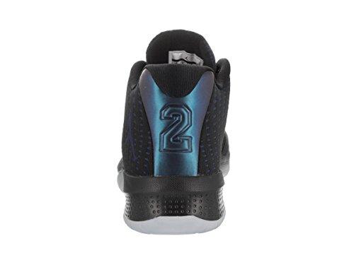 Jordanien Nike Mens B.fly Basket Sko Svart / Vit / Endräkt