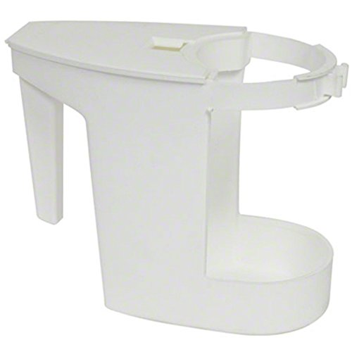 Boss Cleaning Equipment B011100 White Super Toilet Bowl Caddy