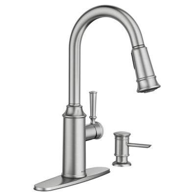Moen Stainless Steel Spray Faucet - 8