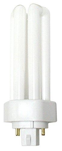 Luxrite LR20385 (12-Pack) CF26DT/E/827 26-Watt Triple Tube Compact Fluorescent Light Bulb, Warm White, 2700K, 1800 Lumens, 4-Pin GX24Q-3 Base (Par38 Compact Fluorescent Bulb)