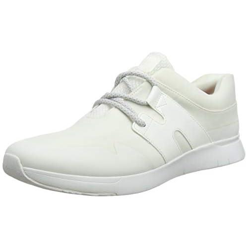 chollos oferta descuentos barato FitFlop Anni Flex Zapatillas sin Cordones para Mujer Blanco Urban White 194 38 EU