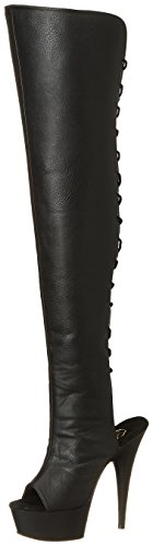 Delight Stiefel Kurzschaft Pleaser Damen 3019 gxznTY