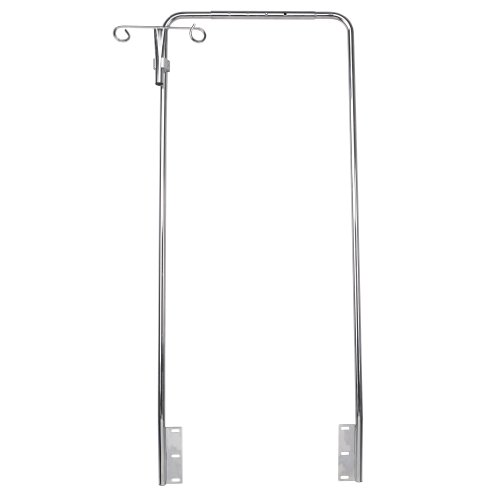 Drive Medical Overhead Adjustable Wheelchair Anti Theft Device with IV Hooks
