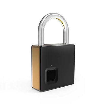 Lemorele Huella Digital Candado Candados de Seguridad con ...