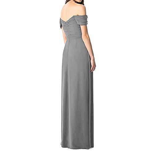 HWAN H¨¹lsen Schatz der Frauen Schulter lange Brautjunfer Kleid ...