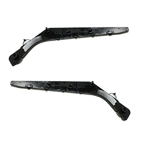 (Koolzap For 07-12 Sentra Rear Bumper Cover Retainer Mounting Brace Bracket SET PAIR)