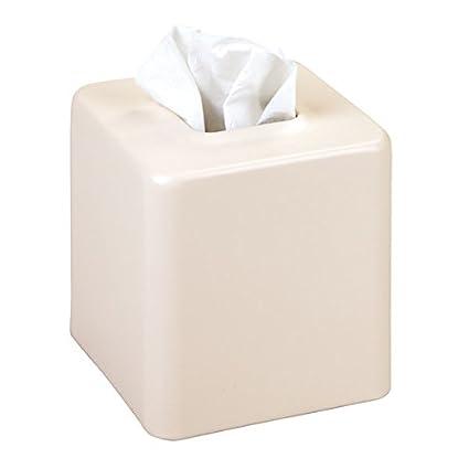 beige matt Ideale come porta fazzoletti o portatovaglioli in bagno o in cucina Colore mDesign scatola porta fazzoletti quadrata