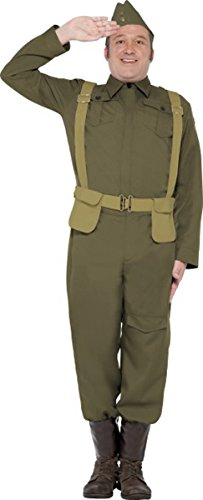 Ww2 Home Guard Private Costume (Ww2 Home Guard Costume)