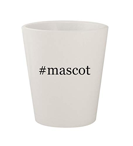 #mascot - Ceramic White Hashtag 1.5oz Shot Glass -