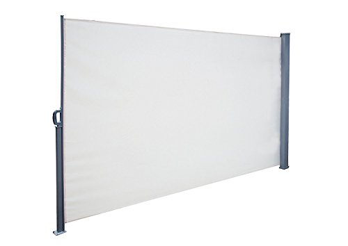 SimLife Retractable Side Awning Folding Screen Patio Gard...