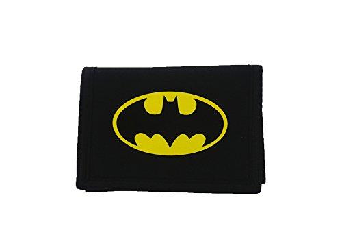 Batman Wallet Coin Pouch, 13 Cm, Black (Coin Purse Superhero)