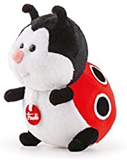 Trudi 51273 Trudino Coccinella stoffen speelgoed (Baby-& peuter-speelgoed), rood, 15 cm