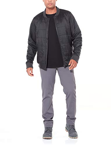Black Icebreaker Venturous Men's Coats Outerwear Jacket Down Merino OW81x0wqF