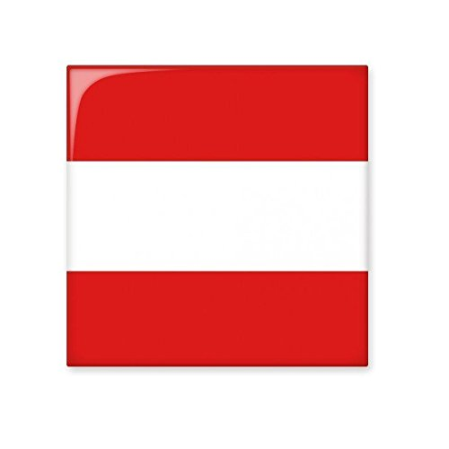 Austria National Flag Europe Country Symbol Mark Pattern Ceramic Bisque Tiles for Decorating Bathroom Decor Kitchen Ceramic Tiles Wall Tiles cheap