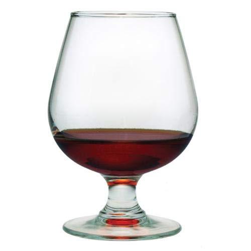 OKSLO 12-ounce brandy snifter glasses (set of 8)