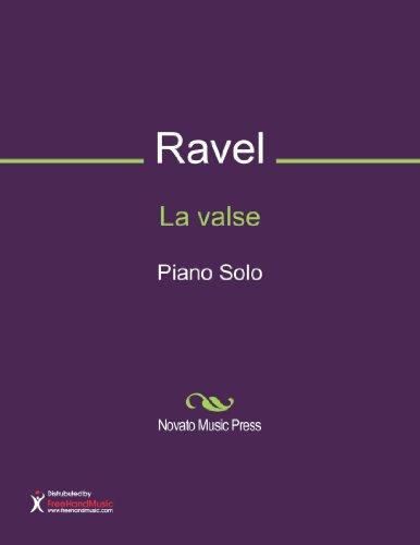 La valse Sheet Music (Piano Solo) (Ravel La Valse Piano Solo Sheet Music)
