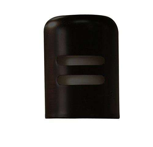 Westbrass Standard Brass Air Gap Cap Only, Matte Black, (Brass Air Gap)