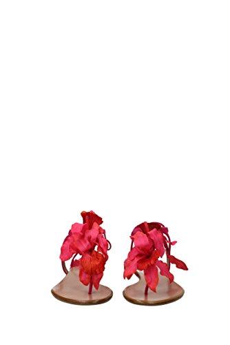 floflainsue Fuchsia Aquazzura Suède Femme Eu Tongs twpqg7z0