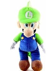 Nintendo Mario Bros. Luigi Large Plush Backpack 18 inches - Plush Doll with double straps on the back