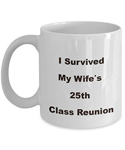 25th Class Reunion School Souvenir Mug Funny Novelty