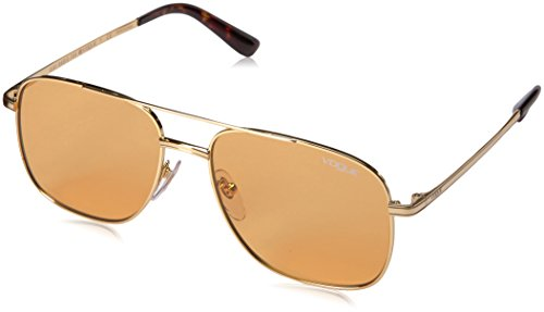 Gigi Hadid for Vogue Eyewear  Women's Square Sunglasses VO4083S Gold/Orange (Shop Vogue)