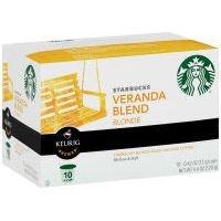 Starbucks Sbux Kcup Veranda Coff 10 count (Pack Of - Central Coffs