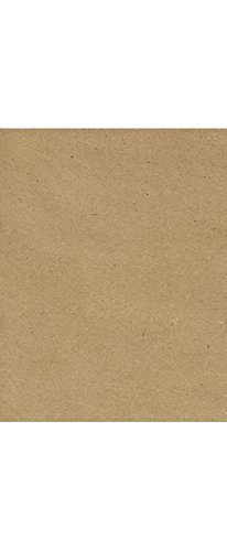 8 1/2 x 11 Cardstock - 100% Recycled Grocery Bag Brown (250 Qty) | Perfect for Crafting, Invitations, Scrapbooking, Weddings and so much more! | 65lb Paper | 81211-C-46-250