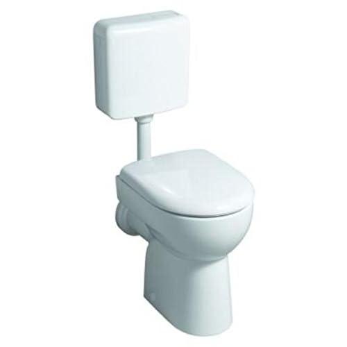 Keramag Renova Toilet (Without Lid) Wall Washer Flat No 1, 203010 White (Alpin) 6L 203010000 50%OFF