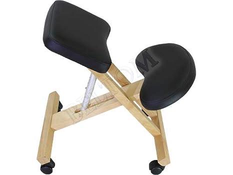 Beltom sedia ergonomica ortopedica poggia ginocchia sgabello