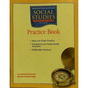 Houghton Mifflin Social Studies: Practice Book Level 5 US History