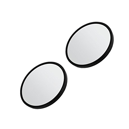 Blind Spot Mirror - TOOGOO(R) 2'' Dia Black Frame Round Rearview Blind Spot Mirror Rearmirror for Car by TOOGOO(R) (Image #2)