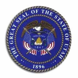 Flagline Utah - State Seal Sticker