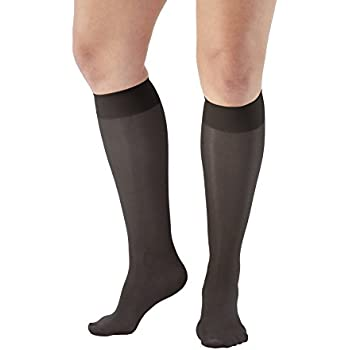 2ab9291f90e Ames Walker AW Style 76 Soft Sheer 8-15 mmHg Mild Compression Knee High  Stockings