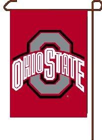 NCAA Ohio State Buckeyes Garden Flag, 11