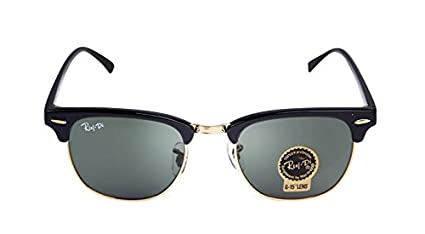 c5f2fa6281 Half metal Sunglasses dark green lens glossy black frame Men Women 2018  Brand designer Glass Lens