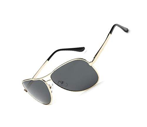 para viajar al Gafas UV400 polarizadas sol Moda Hombres Mujeres sol de los Golden protectoras conducción aire libre gafas de de para hombres la wq1fgT