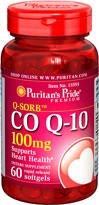 Puritans Pride Q-sorb Coq10 100mg 60 Softgels 1 Bottle