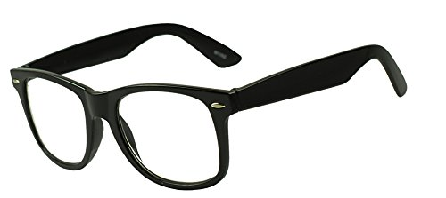 Wayfarer RX Strength Maginfication Reading Eye Glasses +1.00 +1.50 +2.00 +2.50 +3.50 Readers Eyewear (Black, 2.5 x)