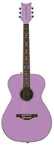 Daisy Rock Pixie Acoustic Guitar, Pastel (Butterfly Cutaway Guitar)