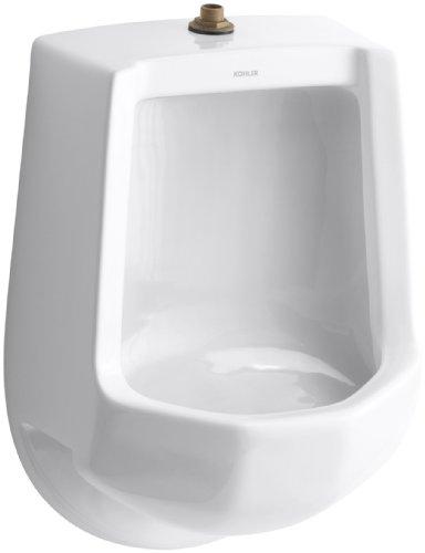 Kohler Elongated Urinal - KOHLER K-4989-T-0 Freshman Urinal, White