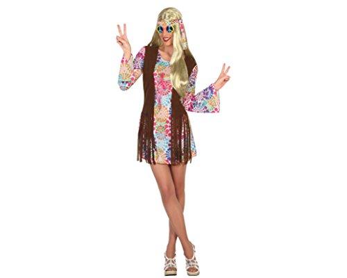 Atosa 16363–Hippie–Misses 'Costume Sizes: M/L 10-12 ()