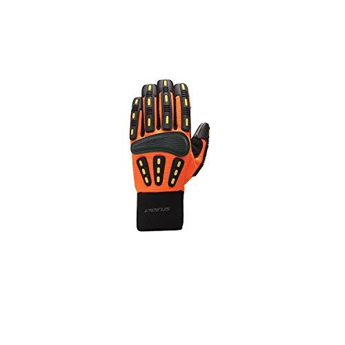 Seirus Innovation Men's Heatware Gripper Glove, Medium, His-Vis...