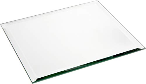 Plymor Square 5mm Beveled Glass Mirror, 8 inch x 8 inch