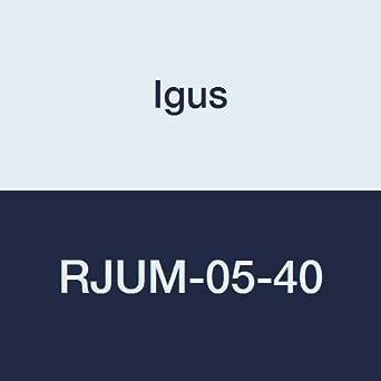 40 mm Nominal Size Engineered Polymer Igus RJUM-05-40 DryLin R Closed Pillow Block Short Design Standard Linear Bearing