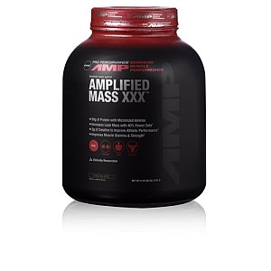GNC Pro Performance AMP Amplified messe XXX Poids Gainer, chocolat, 6 Pound