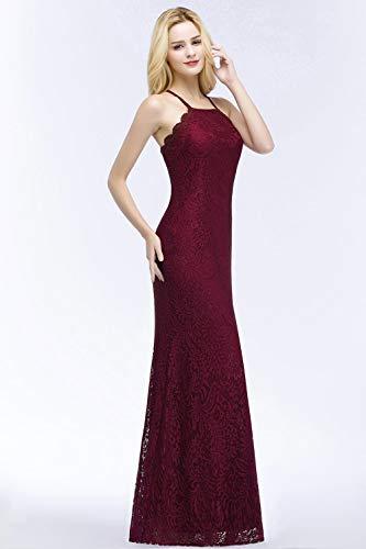 37b6c4f53c67 Cerimonia Abiti D onore Ballo Sera 77 Mode Abito Senza Donna Di Marca  Sirena Winered Vintage In Lunga Bolawoo Per Da Pizzo Damigella Elegante ...