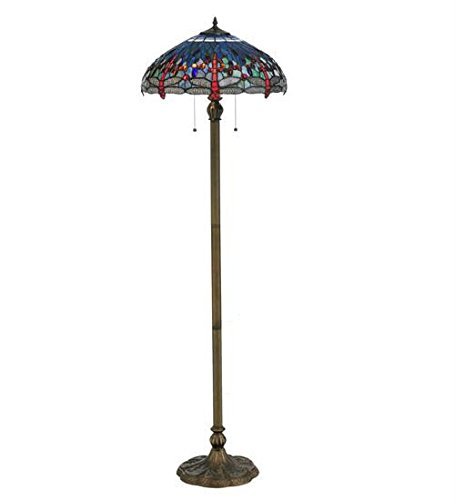 Tiffany Hanginghead Dragonfly Floor Lamp
