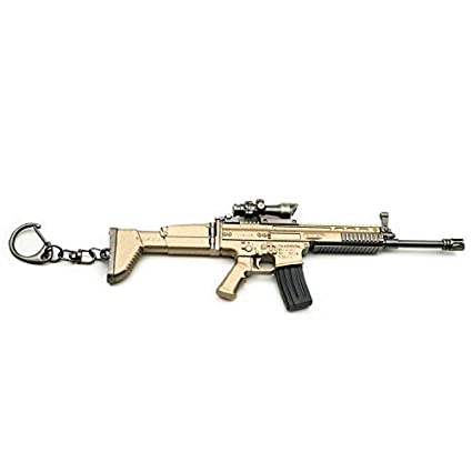 cmsx Llavero de rifle de rifle de metal con hebilla para ...