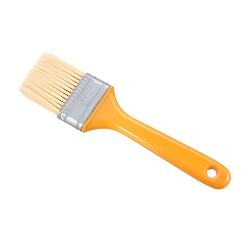 uxcell 2 Inch Paint Brushes Chemical Fiber with Plastic Handle for Household Wall Treatment 20pcs