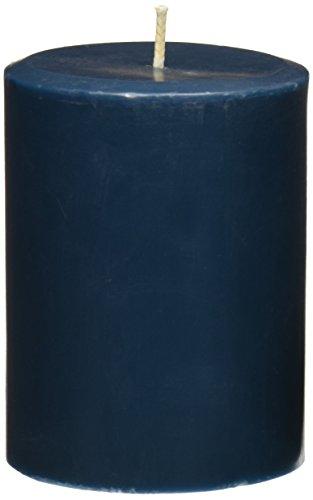Northern Lights Candles Sea Salt & Kelp Fragrance Palette Pillar Candle, 3 x 4